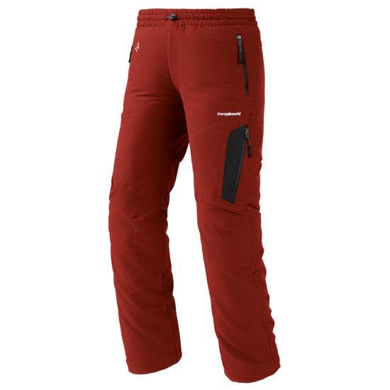 Trangoworld Loha Pant JR - Rouge Volcan/Anthracite