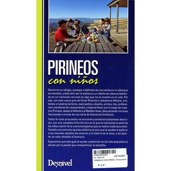 Ed. Desnivel Pirineos Con Niños, 34 Excursiones - Photo of detail