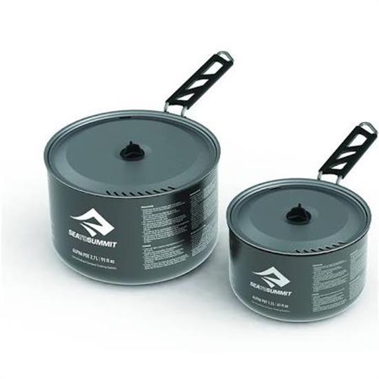Sea To Summit Alpha Pot Set 1.2 y 2.7 Litros - Gris