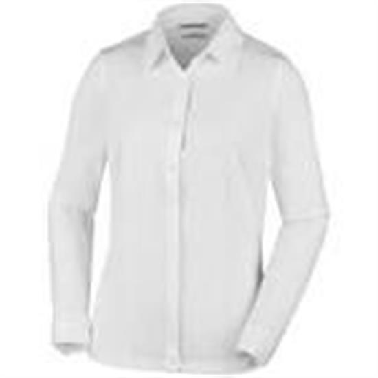 Columbia Saturday Trail Stretch Ls Shirt White - 101