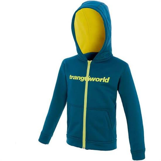 Trangoworld Oby Jacket Jr - Azul Mar/Citronelle