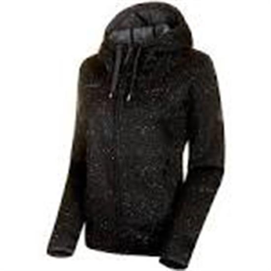 Mammut Chamuera Ml Hooded Jacket Women Black - 0001