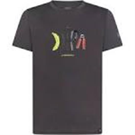 La Sportiva Breakfast T-Shirt M Carbon - 900900