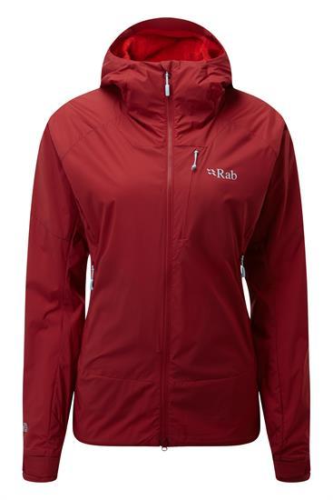 Rab Vr Summit Jacket W Crimson - CR