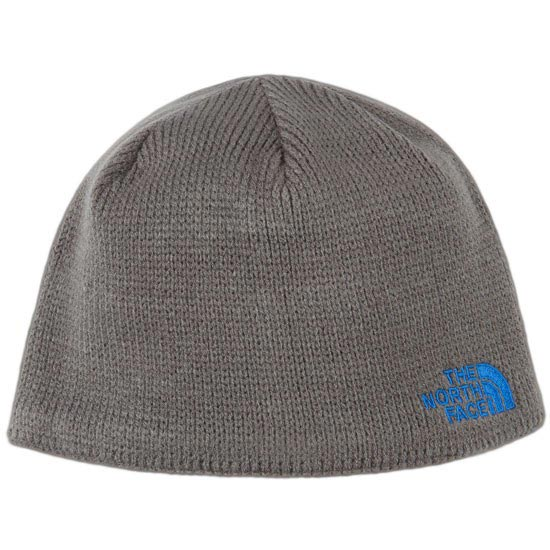 The North Face Youth Bones Beanie - Graphite Grey/Nautical Blue