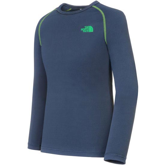 The North Face Base Layer Warm Set Jr - Cosmic Blue