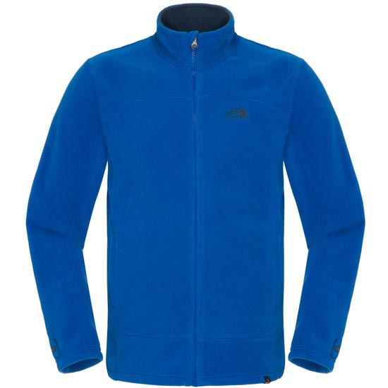 The North Face 100 Glacier Full Zip - Nautical Blue