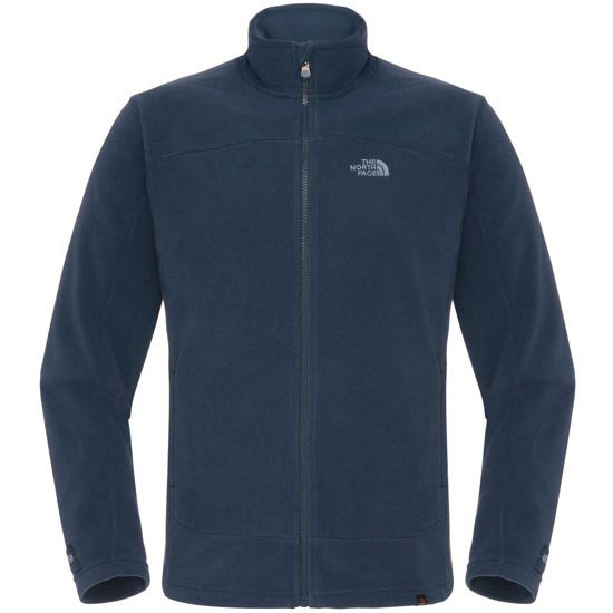 The North Face 100 Glacier Full Zip - Cosmic Blue
