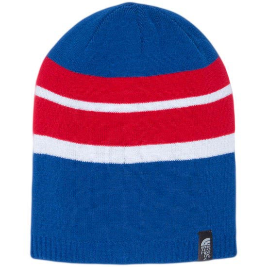 The North Face Youth Reversible Leavenworth beanie - Nautical Blue