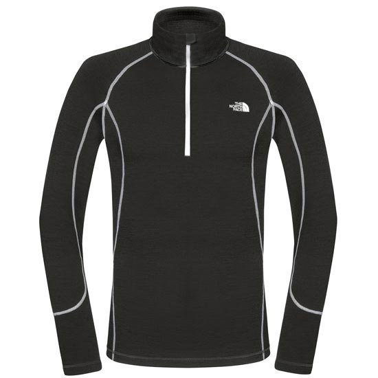 The North Face Warm L/S Zip Neck - TNF Black