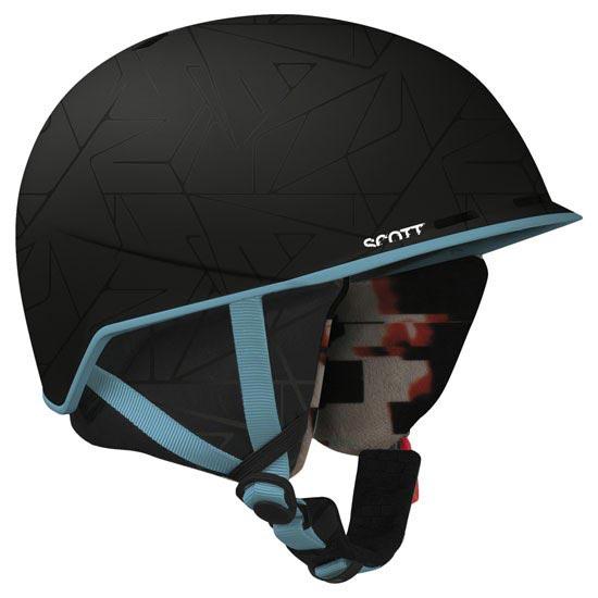 Scott Anti Helmet Sensory Black Matt - Sensory Black Matt