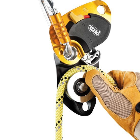 Petzl Pro Traxion New - Photo of detail