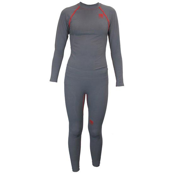 Ottomila Pack Pro Kid L/s + Tight - Grey/Red
