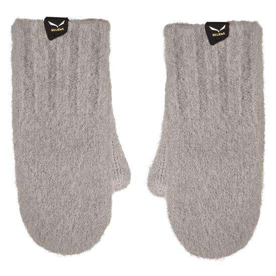 Salewa Walk Wool Mitten Kids - Grey