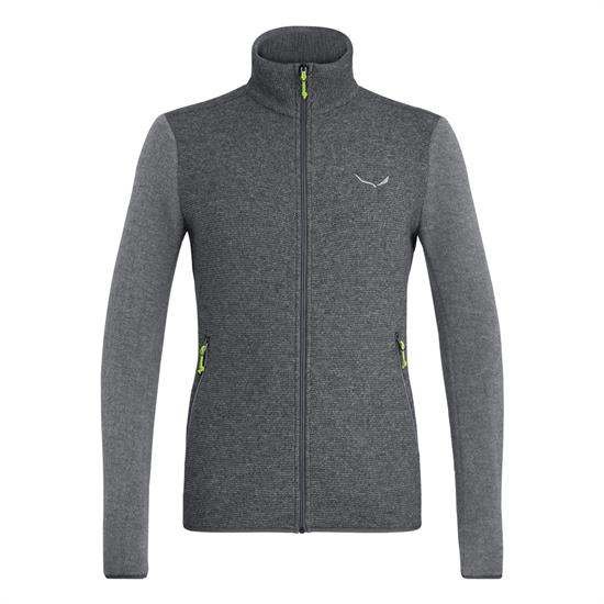 Salewa Fanes Sarner Light Wool Jacket - Dark Grey