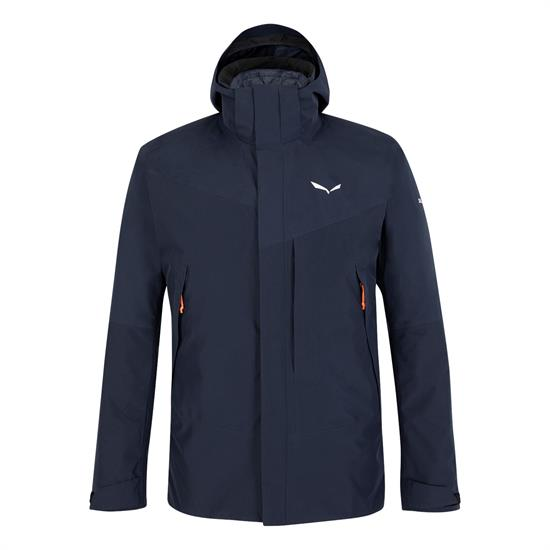 Salewa Stelvio Convertible Jacket - Blue Navy Blazer
