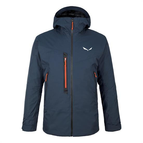 Salewa Pelmo Convertible Jacket - Blue Navy Blazer