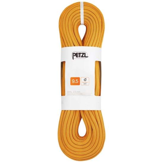 Petzl Arial 9.5 mm x 70 m - Gold/Black