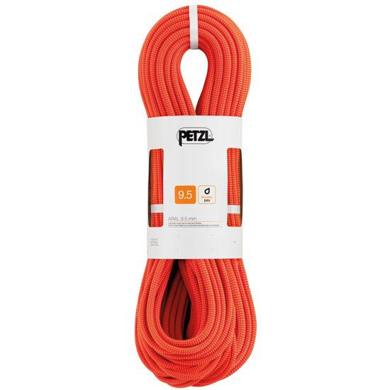 Petzl Arial 9.5 mm x 80 m Orange -