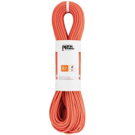 Petzl Salsa 8.2 mm x 60 m Corail/Orange - Coral/Naranja