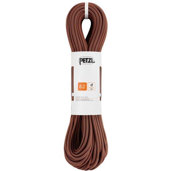 Petzl Salsa 8.2 mm x 60 m Noir/Orange - Negro/Naranja