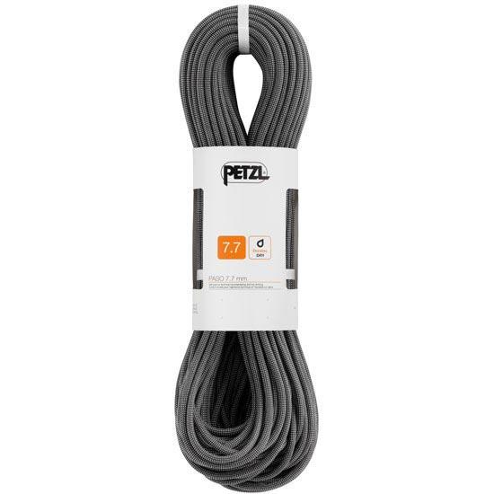 Petzl Paso 7.7 mm x 60 m Noir - Negro