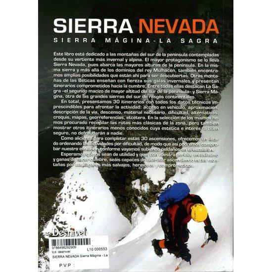 Ed. Desnivel Sierra Nevada Sierra Mágina - La Sagra - Photo of detail