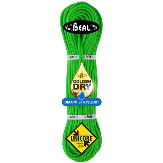 Beal Gully 7.3 mm x 60 m Golden Dry - Verde