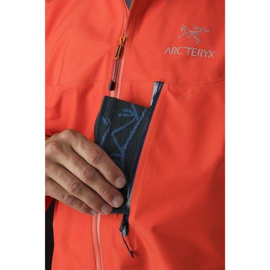 Arc'teryx Alpha FL Jacket - Photo de détail
