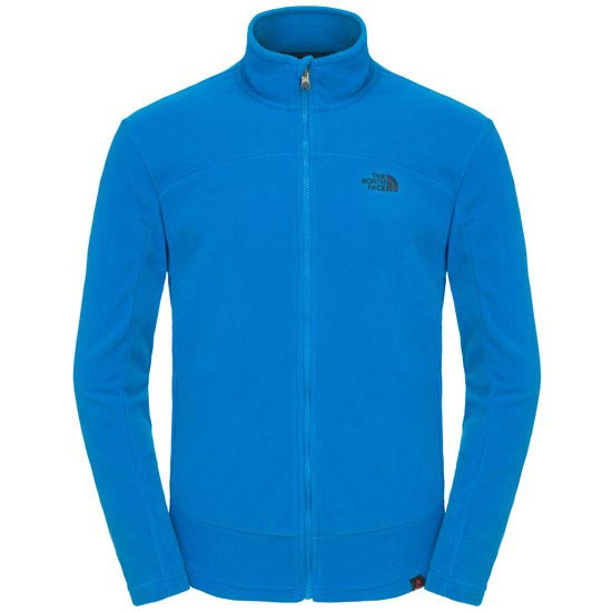 The North Face 100 Glacier Full Zip - Drummer Blue