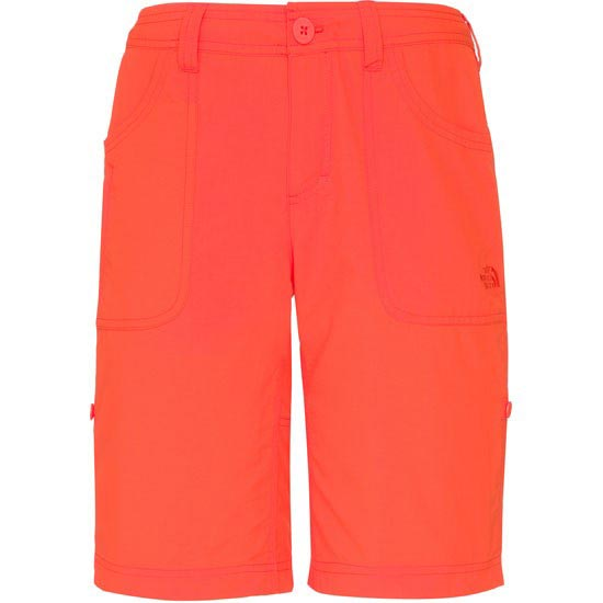 The North Face Horizon Sunnyside Short W - Fire Brick Red