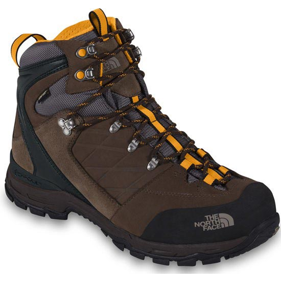 The North Face Verbera Hiker II GTX - Cub Brown/Zinnia Orange