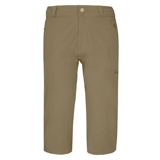 The North Face Trekker Capri W - Weimarener Brown