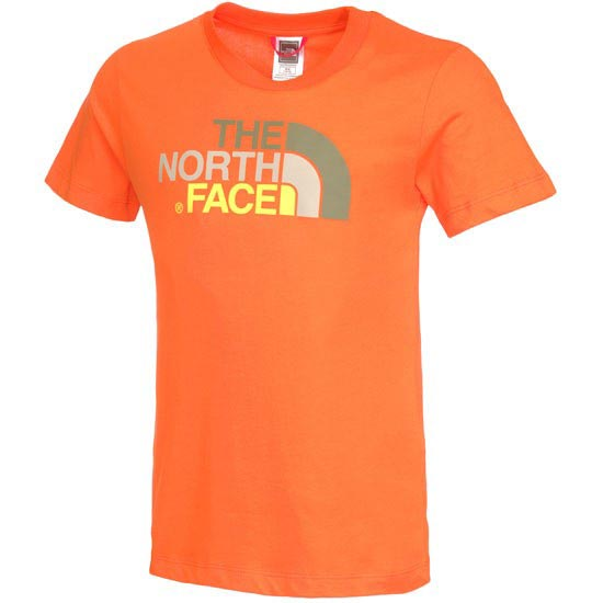 The North Face S/S Easy Tee Y - Red Orange