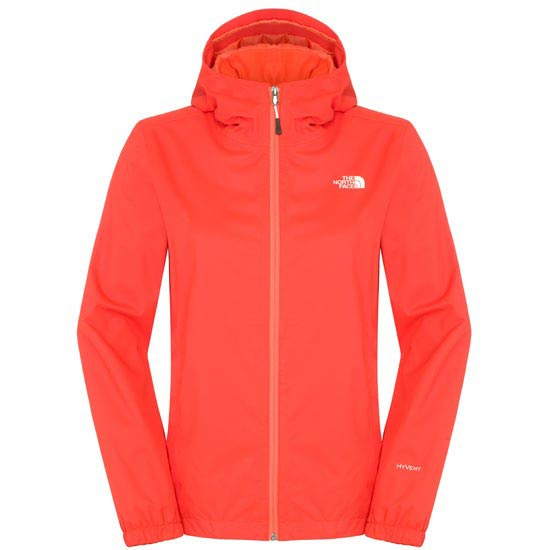 The North Face Quest Jacket W - Fire Brick Red