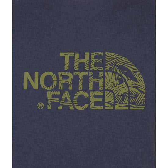 The North Face S/S Woodcut Dome Tee - Photo de détail