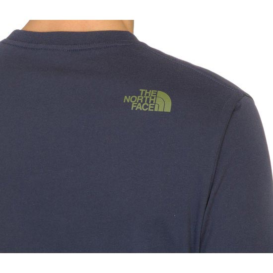 The North Face S/S Woodcut Dome Tee - Photo of detail