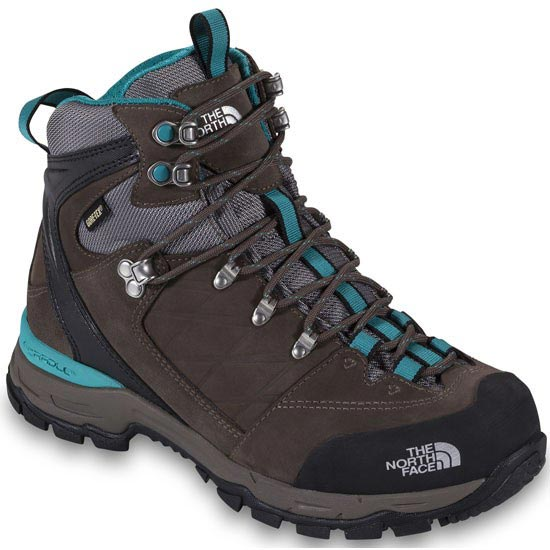 The North Face Verbera Hiker II GTX W - Weimaraner Brown/Jaiden Green