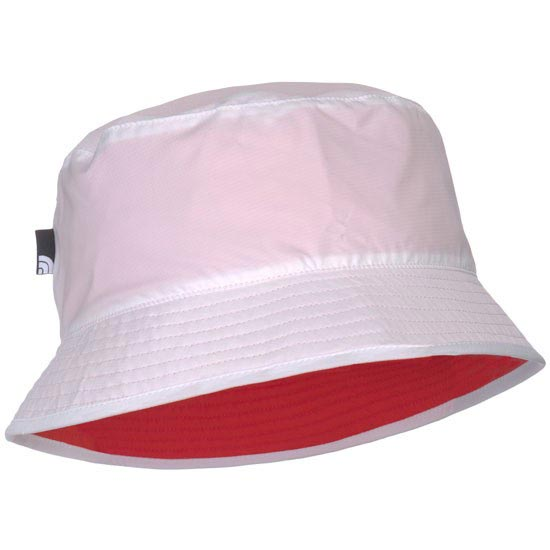 The North Face Sun Stash Hat - TNF White/Fire Brick Red