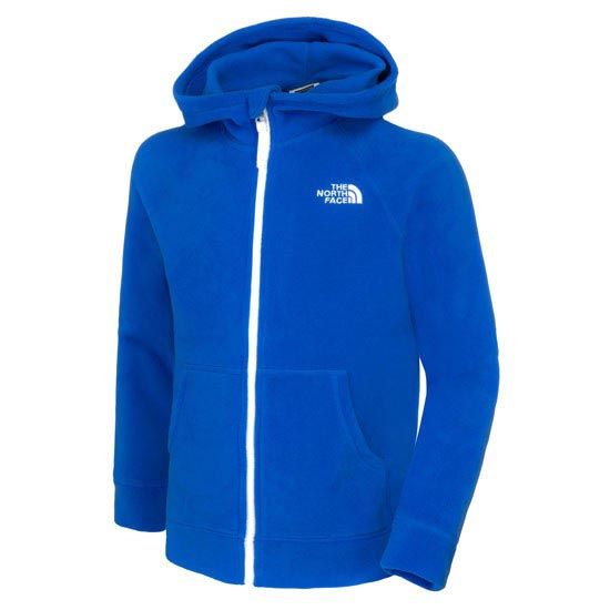 The North Face B Glacier Full Zip Hoodie - Honor Blue