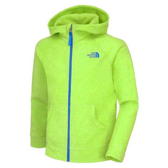 The North Face B Glacier Full Zip Hoodie - Tree Frog Green