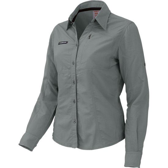 Trangoworld Leroe Shirt W - Rock Grey