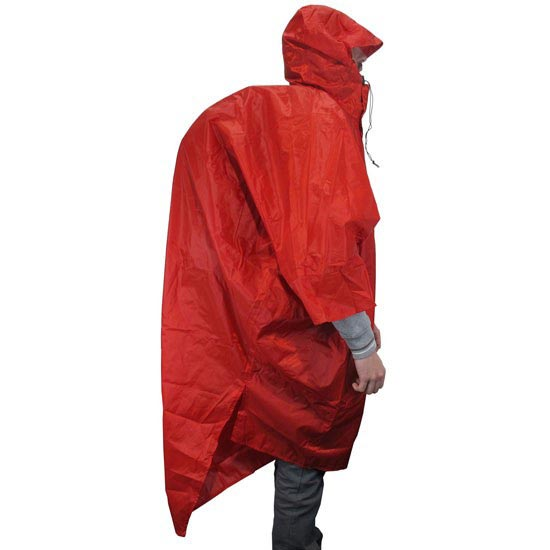 Tatonka Poncho 2 - Red
