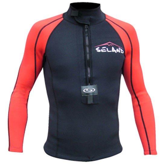 Seland Onis Jacket - Negro/Rojo