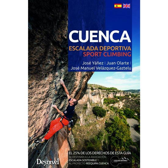 Ed. Desnivel Cuenca. Escalada deportiva -