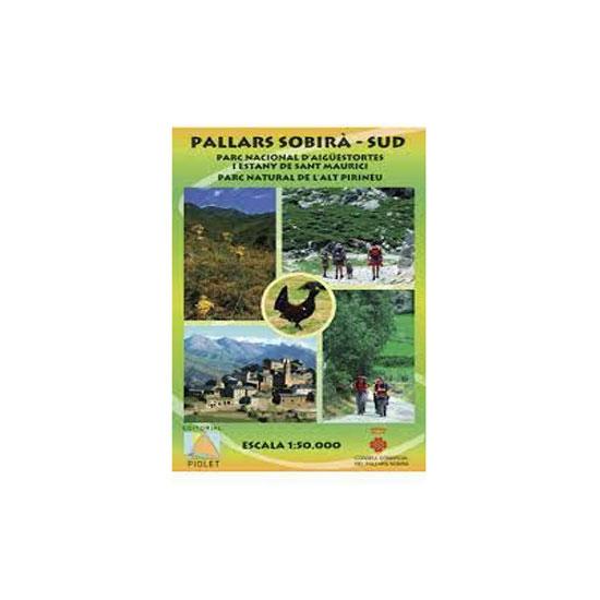 Ed. Piolet Mapa Pallars Sobira Sud -