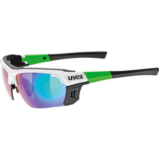Uvex Sportstyle 303 White Green S4 + S1 -