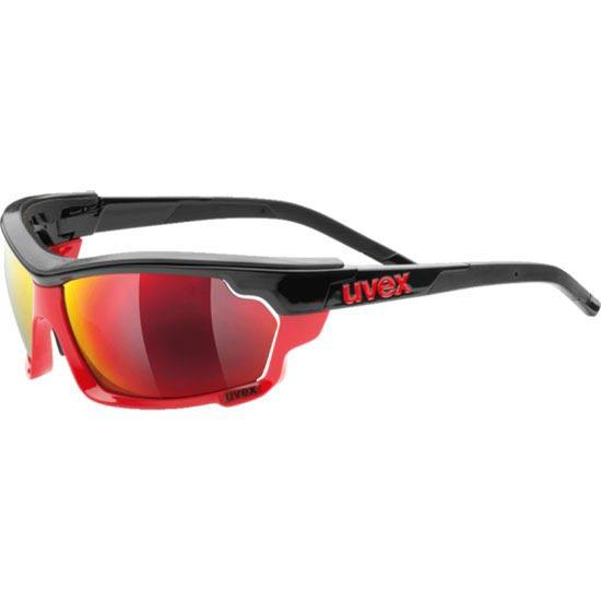 Uvex Sportstyle 304 IR Black Red S4 IR + S3 + S0 -