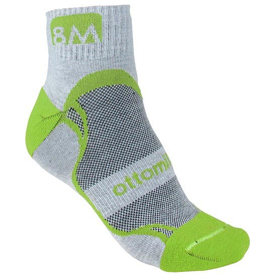 Ottomila Trail Running 01 - Grey/Pistachio