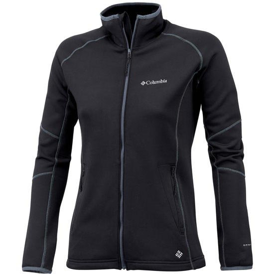 Columbia Passo Alto II Full Zip W - Black